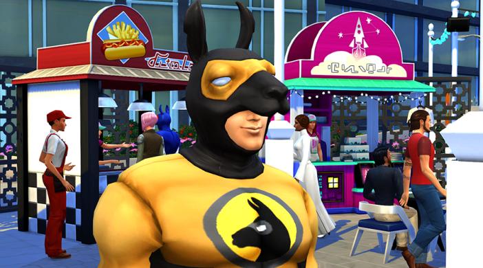 Фестиваль УмниКон в The Sims 4 Жизнь в городе