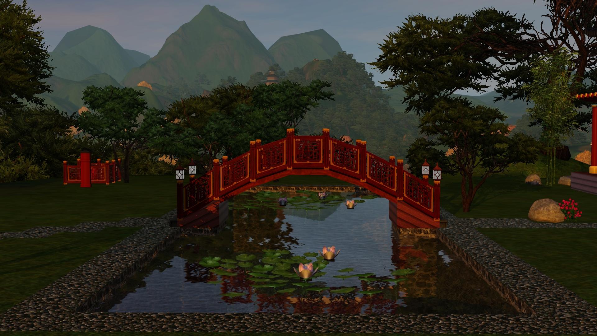 Как сделать мост в симс 3 фото 226