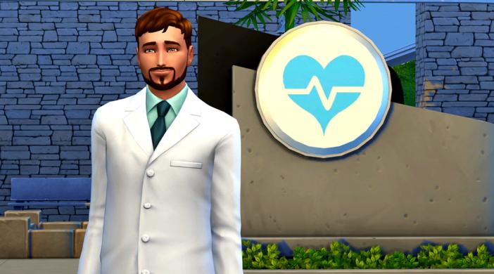карьера доктора симс 4