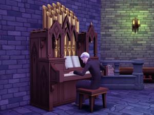 навык игры на органе