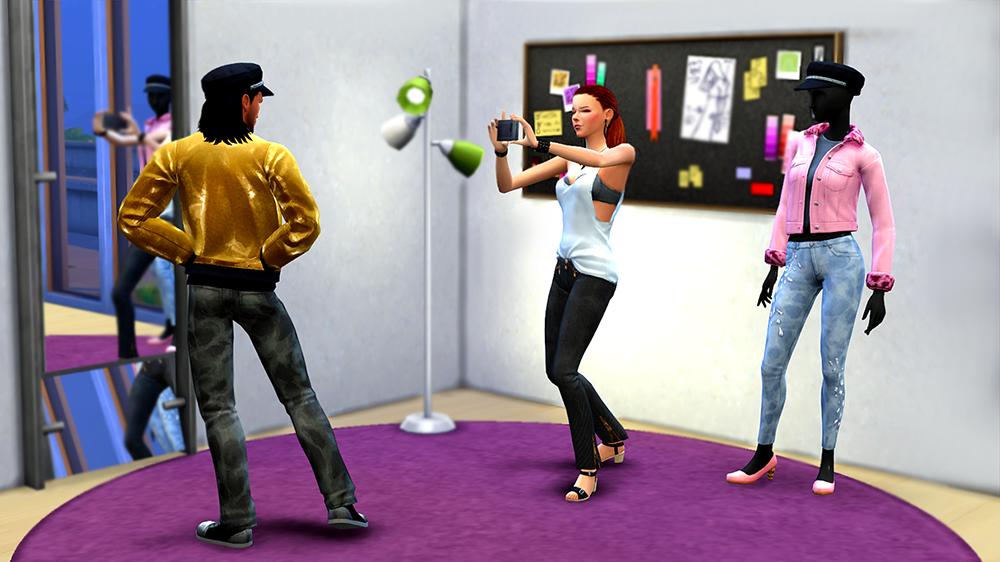 Карьера Законодатель стиля в The Sims 4 — SimsMix 317f956a876