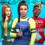 Обложка и описание дополнения The Sims 4 Discover University (Университет)
