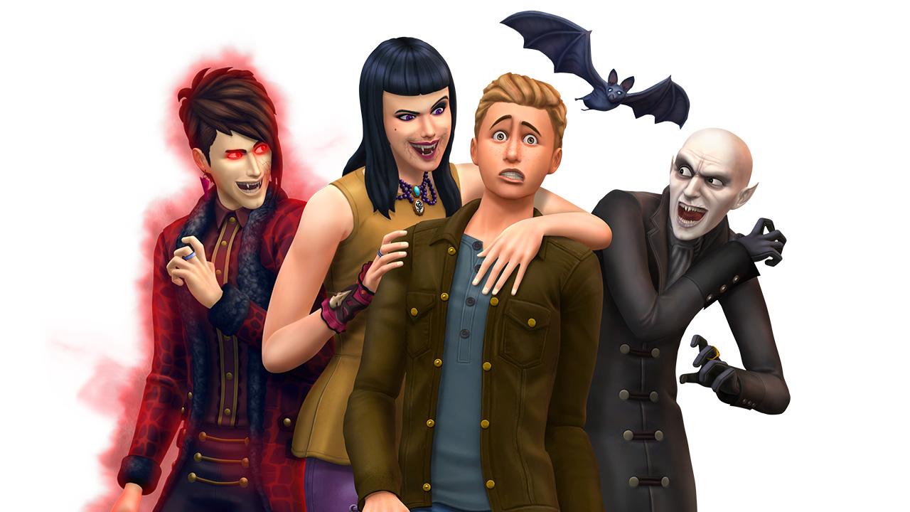 Как сима из симс 2 сделать вампиром